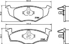 Brake Pads Front 239x19mm